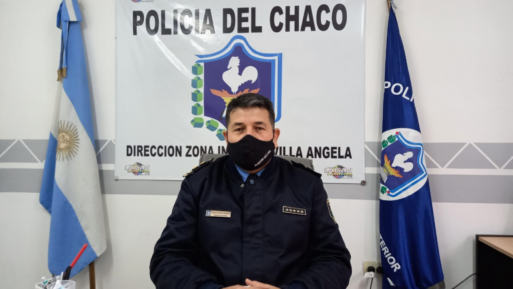 EN EL ANIVERSARIO DE LA POLICÍA DEL CHACO, EL COMISARIO PRINCIPAL DOMINGUEZ SALUDA A SUS COLEGAS