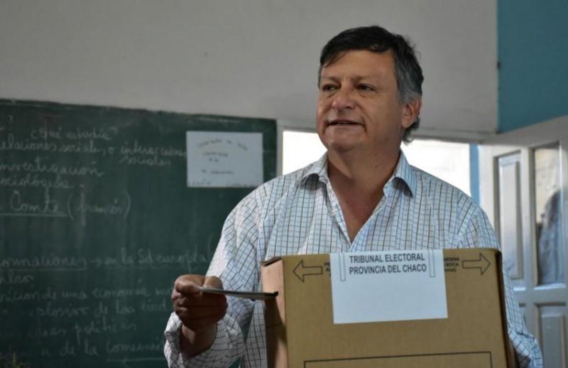 """PEPPO VOTÓ EN VILLA ÁNGELA: """"QUEREMOS UNA LEGISLATURA AL SERVICIO DEL PUEBLO Y DE LOS INTERESES DEL CHACO"""", AFIRMÓ"""