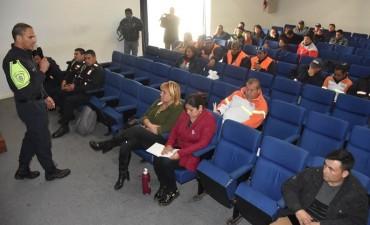 EL MUNICIPIO REALIZÓ CAPACITACIÓN DE ACTUALIZACIÓN LEGISLATIVA Y PROCEDIMENTAL AL ÁREA DE TRÁNSITO