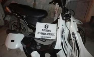 INVESTIGACIONES RECUPERO DOS MOTOCICLETAS