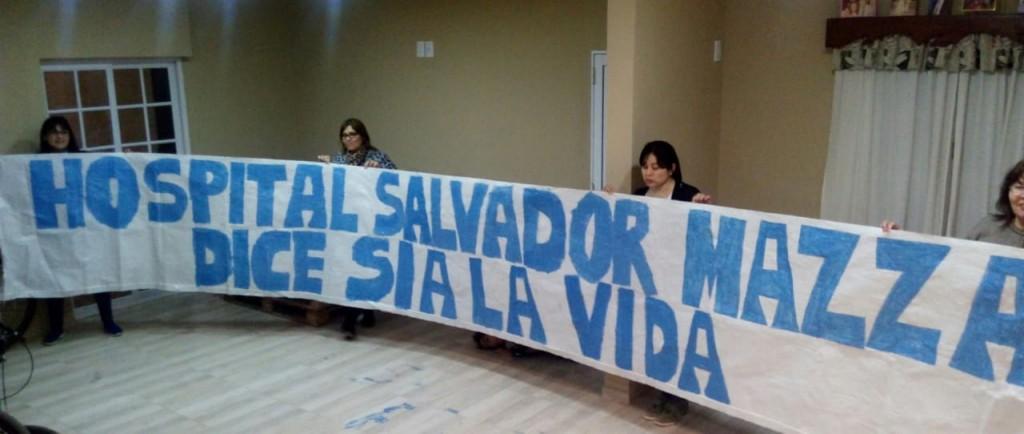 PERSONAL DEL HOSPITAL SALVADOR MAZZA SE MANIFESTARÁN A FAVOR DE LAS 2 VIDAS