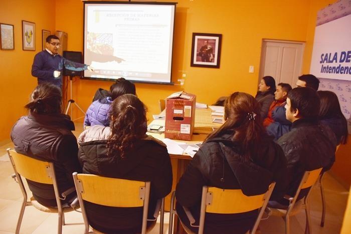 PERSONAL MUNICIPAL RECIBE CAPACITACIÓN PARA APLICACIÓN EN CONTROLES BROMATOLÓGICOS