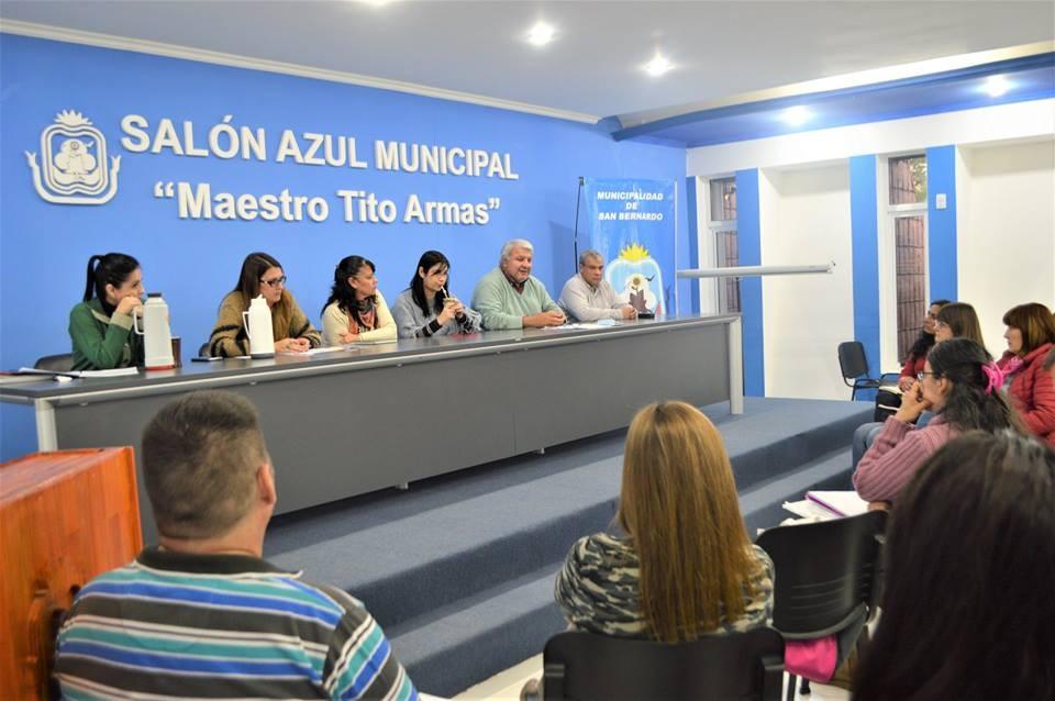 EL MUNICIPIO SE HARÁ CARGO DEL REFRIGERIO COMEDOR DE LAS DIFERENTES INSTITUCIONES DE SAN BERNARDO