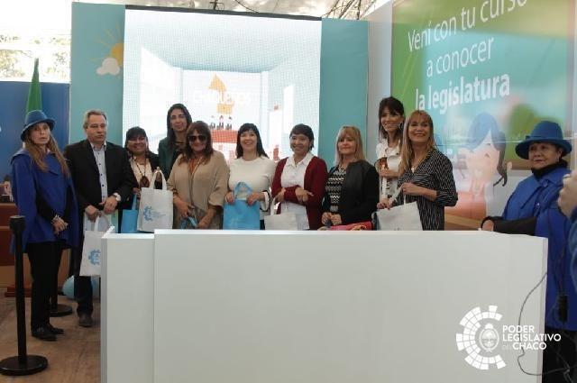 CON NUEVAS PROPUESTAS PARA LA COMUNIDAD, EL PODER LEGISLATIVO PRESENTÓ SU STAND EN LA BIENAL DE ESCULTURA 2018