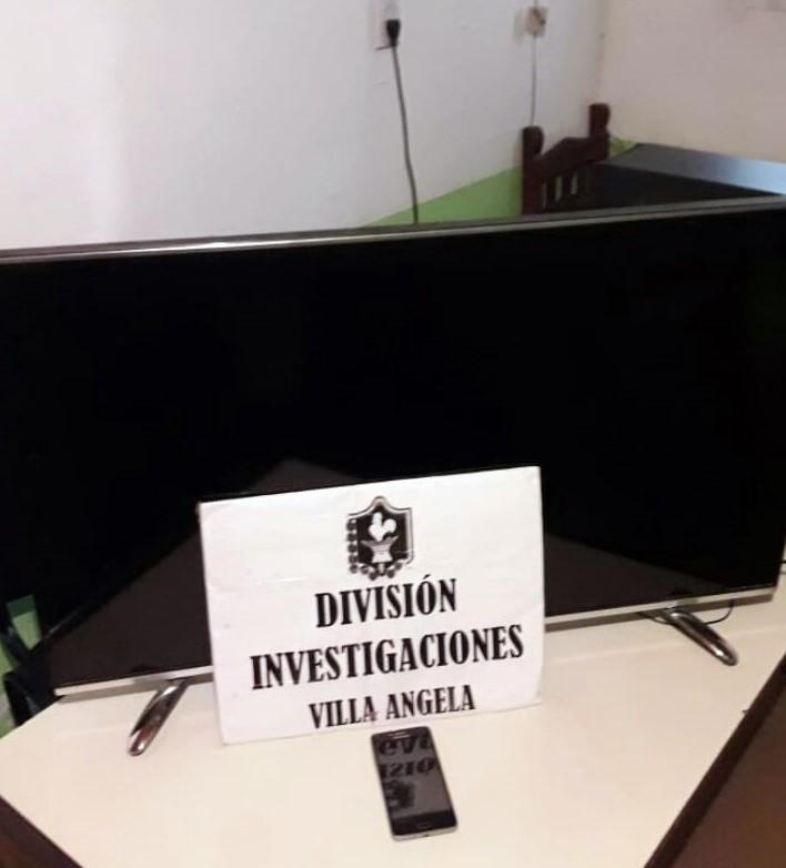 ROBARON A LA SIESTA UN LCD Y CUANDO LO TRANSPORTABAN A LA NOCHE LO ATRAPO LA POLICÍA
