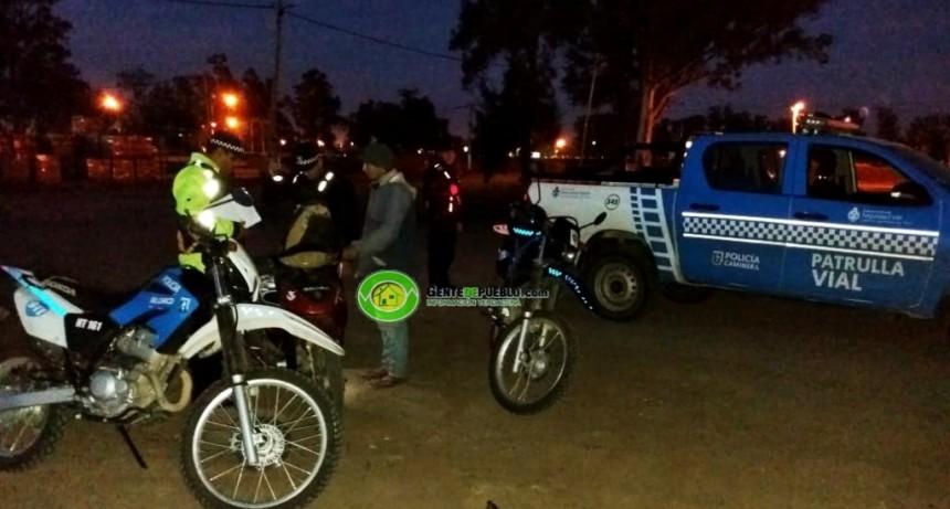 POLICÍA CAMINERA CONTINUA CON LOS CONTROLES ANTIWILEROS Y DE ALCOHOLEMIA