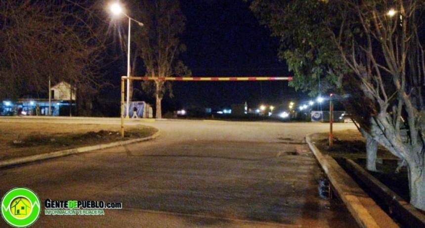VILLA ÁNGELA CUENTA CON LOS PRIMEROS ARCOS REGULADORES DE ALTURA PARA TRANSITO PESADO