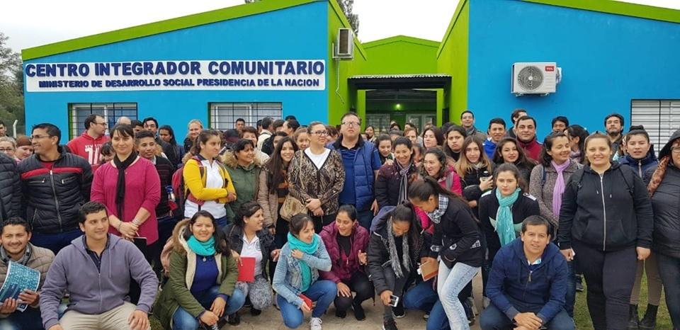 MÁS DE 150 ALUMNOS DE LA UEGP N° 172 VISITARON LA COMUNIDAD DE