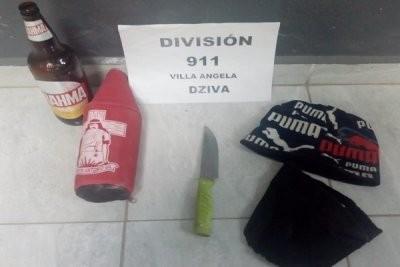 PERSONAL DEL 911 LOGRO ESCLARECER EN POCOS MINUTOS UN ROBO CON ARMA