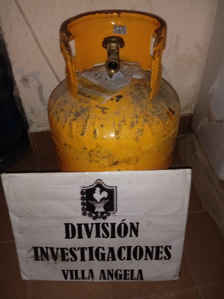 INVESTIGACIONES RECUPERO UNA GARRAFA QUE ROBARON EL 29 DE JUNIO
