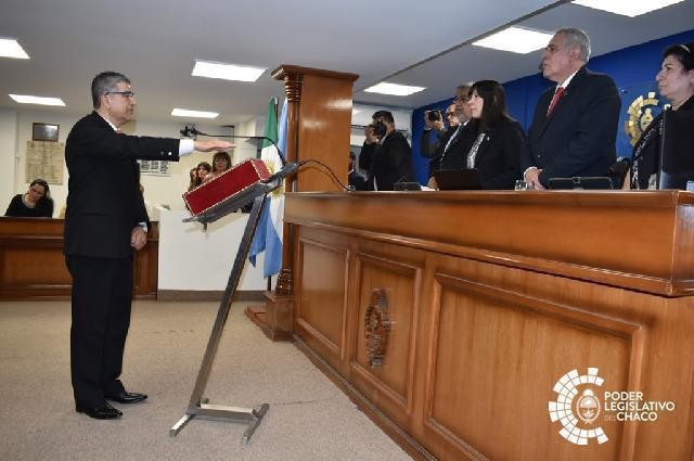 PRESTÓ JURAMENTO EL DIPUTADO JUAN CARLOS AYALA