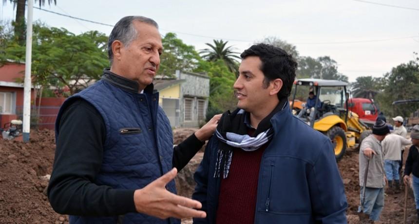 EL INGENIERO MAURO CASTILLO ES EL NUEVO RESPONSABLE DE LAS OBRAS DE BACHEO EN LA CIUDAD