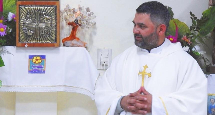 EL VILLANGELENSE DARIO BRE FUE NOMBRADO CURA PARROCO EN WANDA MISIONES