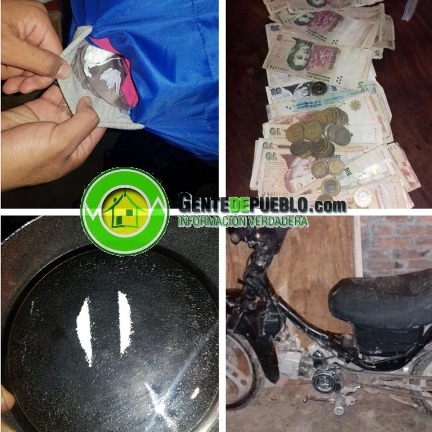 LA DIVISIÓN DROGAS DESBARATÓ UN CENTRO DE VENTA EN SAN BERNARDO