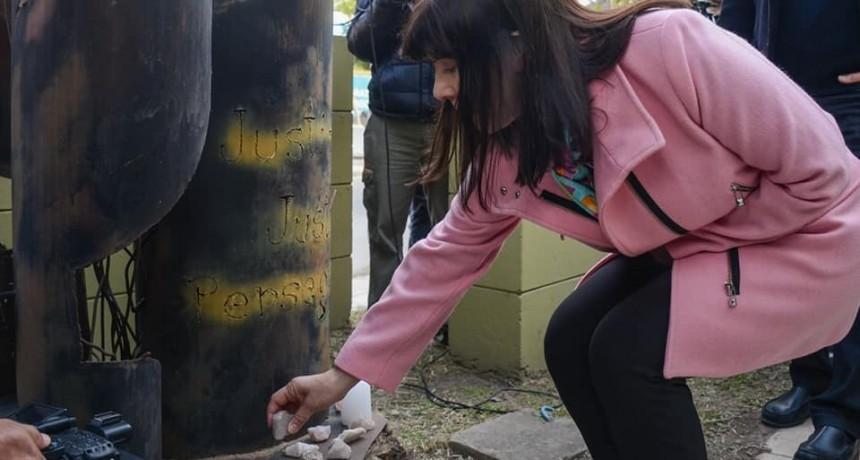 ELI CUESTA ACOMPAÑO A LA COMUNIDAD JUDÍA EN EL 25 ANIVERSARIO DEL ATENTADO A LA AMIA
