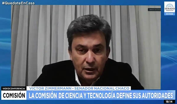 VICTOR ZIMMERMANN ELECTO VICEPRESIDENTE DE LA COMISIÓN DE CIENCIA Y TECNOLOGÍA