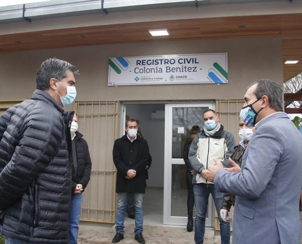 LUEGO DE 132 AÑOS, EL REGISTRO CIVIL DE COLONIA BENÍTEZ TIENE EDIFICIO PROPIO