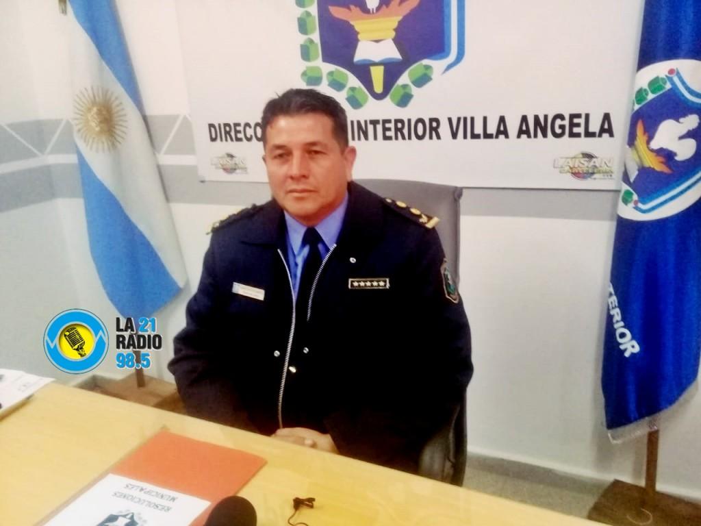 ASUMIÓ EL NUEVO JEFE DE ZONA INTERIOR VILLA ÁNGELA