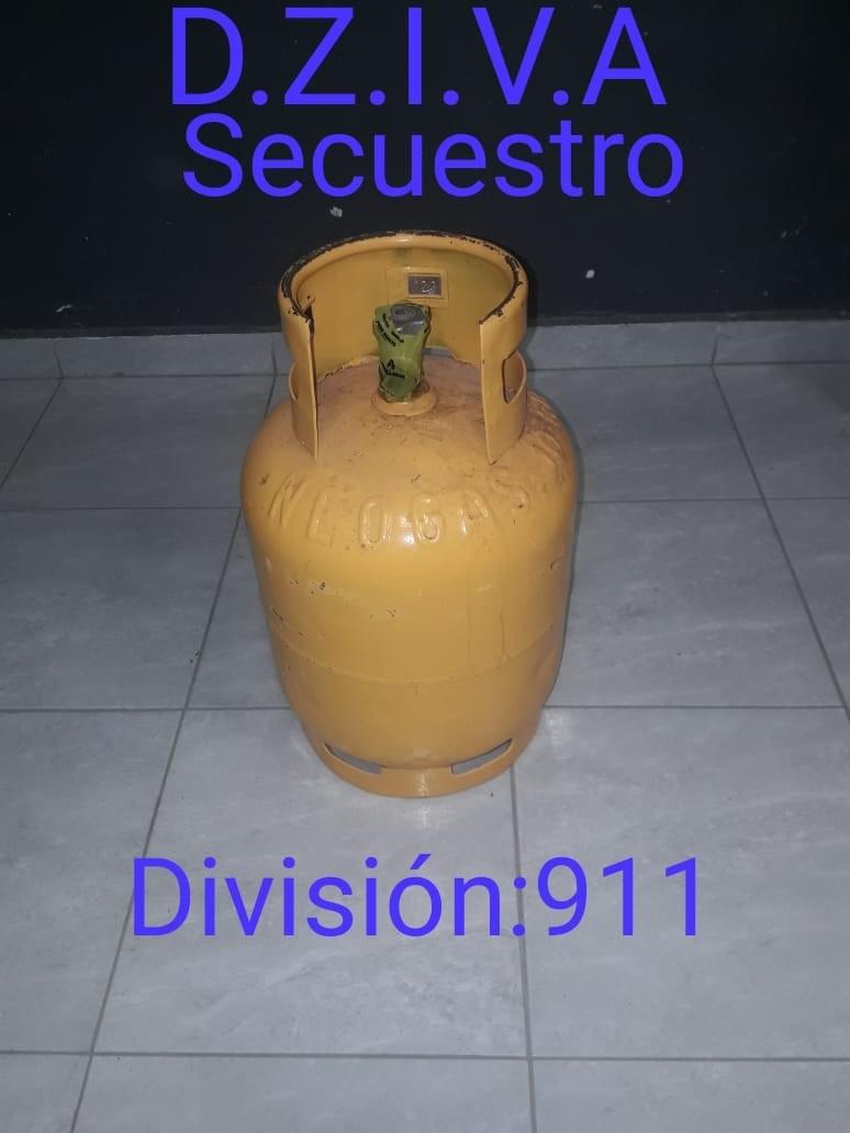 RECUPERAN TUBO DE GAS SUSTRAÍDO