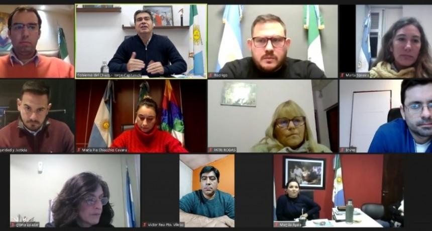 JUNTO A INTENDENTES, EL GOBIERNO ESTABLECIÓ ESTRATEGIAS PARA DISMINUIR LA CIRCULACIÓN VIRAL EN LOCALIDADES CRÍTICAS