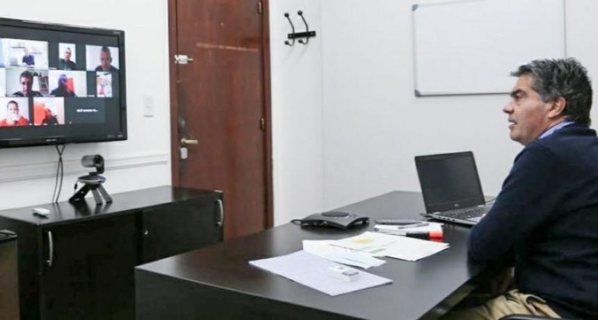 CAPITANICH SE REUNIÓ CON REPRESENTANTES DE ATE PARA AVANZAR EN LOS CONVENIOS COLECTIVOS DE TRABAJO DEL SECTOR PÚBLICO