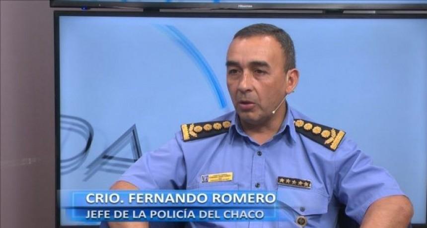 """COMISARIO ROMERO: """"NO IBA INCURRIR EN VIOLAR LOS DEBERES DE FUNCIONARIO PÚBLICO"""""""