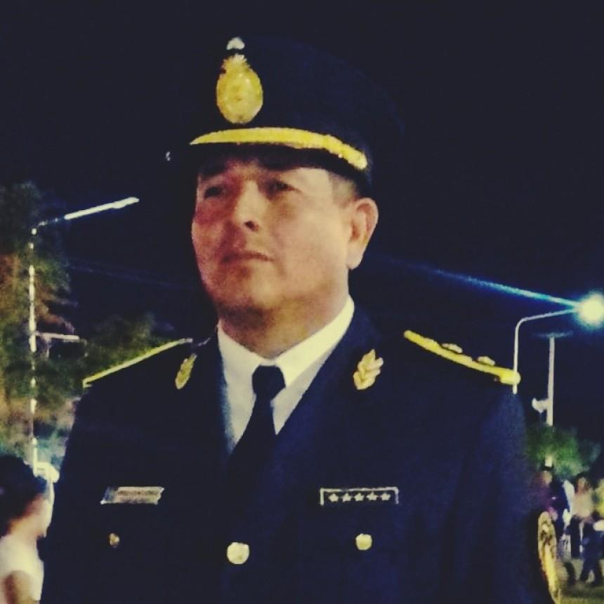 EL COMISARIO MAYOR GUSTAVO DOMINGUEZ SERIA EL NUEVO DIRECTOR DE ZONA INTERIOR VILLA ÁNGELA
