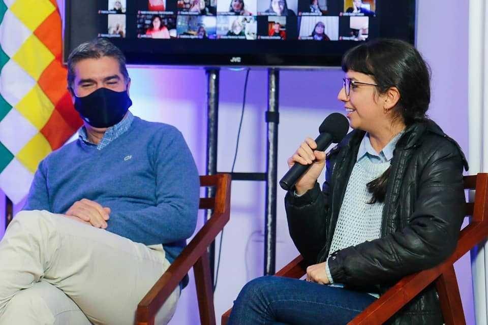 CAPITANICH Y RACH QUIROGA EN LA PRESENTACIÓN DE LA CASA PATRIA CHACO