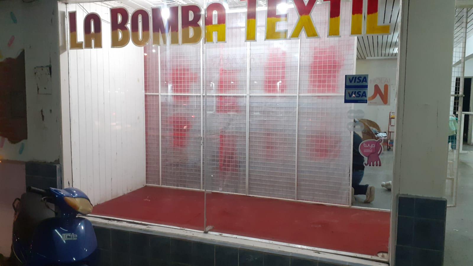 LA CRISIS HIZO CERRAR LAS PUERTAS DE LA BOMBA TEXTIL