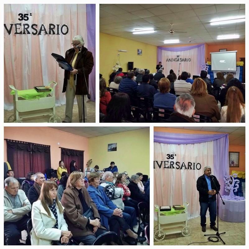 EL CENTRO DE JUBILADOS Y PENSIONADOS DE SAN BERNARDO CELEBRO SU 35° ANIVERSARIO