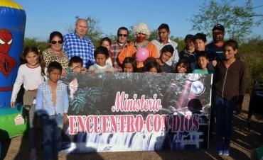EL MINISTERIO ENCUENTRO CON DIOS REALIZO UN AGASAJO PARA LOS NIÑOS  DEL BARRIO TUPAC