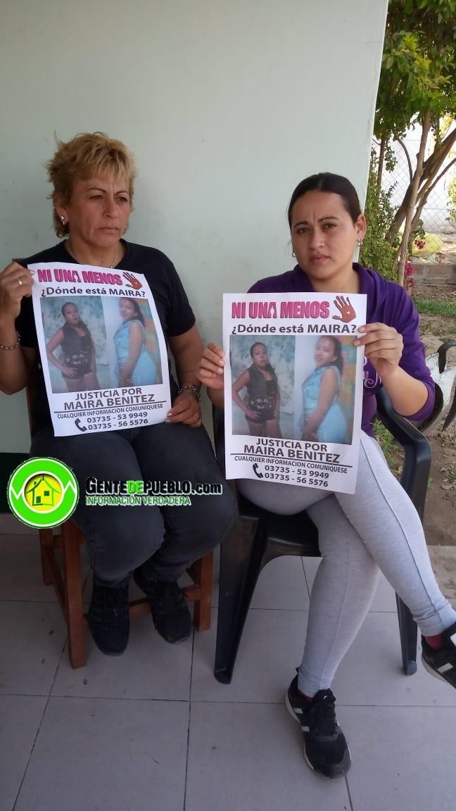 LA FAMILIA DE MAIRA BENITEZ CONFORME CON EL CAMBIO DE CARATULA DE LA CAUSA