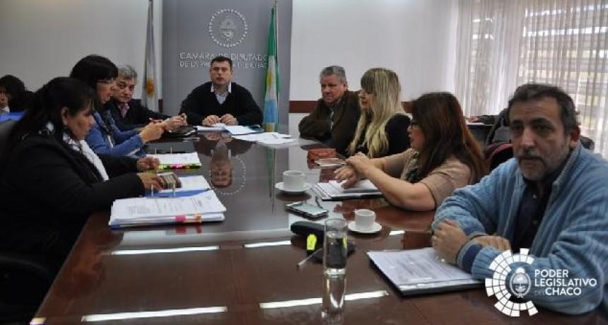 ANTE DIPUTADOS EL MINISTRO ACOSTA EXPUSO SOBRE EL TEMA COMEDORES ESCOLARES