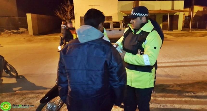 OPERATIVO ANTI-WILEROS Y DE ALCOHOLEMIA EN SAN BERNARDO