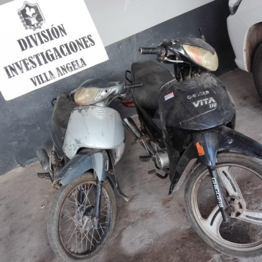 DIVISIÓN INVESTIGACIONES SECUESTRO DOS MOTOCICLETAS QUE HABÍAN SIDO ROBADAS