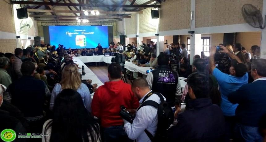 LIDERADOS POR ADALBERTO PAPP Y GUSTAVO MARTÍNEZ LA CORRIENTE DE EXPRESIÓN PERONISTA SE REUNE EN VILLA ÁNGELA