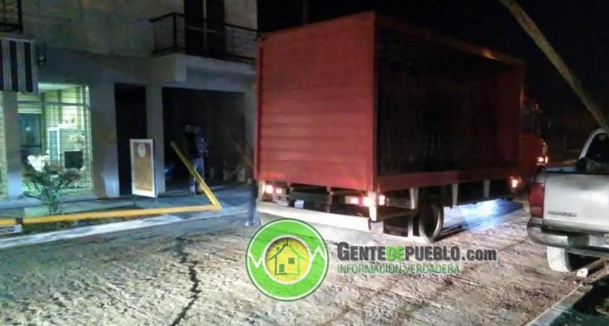 OTRA VEZ CHOCARON UNO DE LOS ARCOS DE CONTROL DE ALTURA