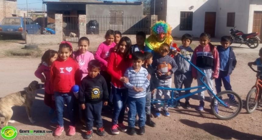 LOS CHICOS DE LA QUINTA 10 TAMBIÉN TUVIERON SU FESTEJO POR EL DÍA DEL NIÑO
