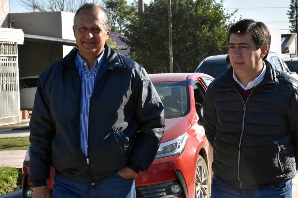 PAPP RECORRIÓ JUNTO A GUSTAVO MARTÍNEZ LAS OBRAS QUE REALIZA EL MUNICIPIO POR ADMINISTRACIÓN