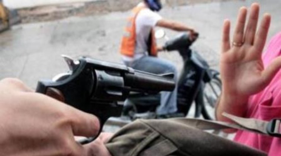 VIOLENTO ASALTO A MANO ARMADA EN SAN BERNARDO