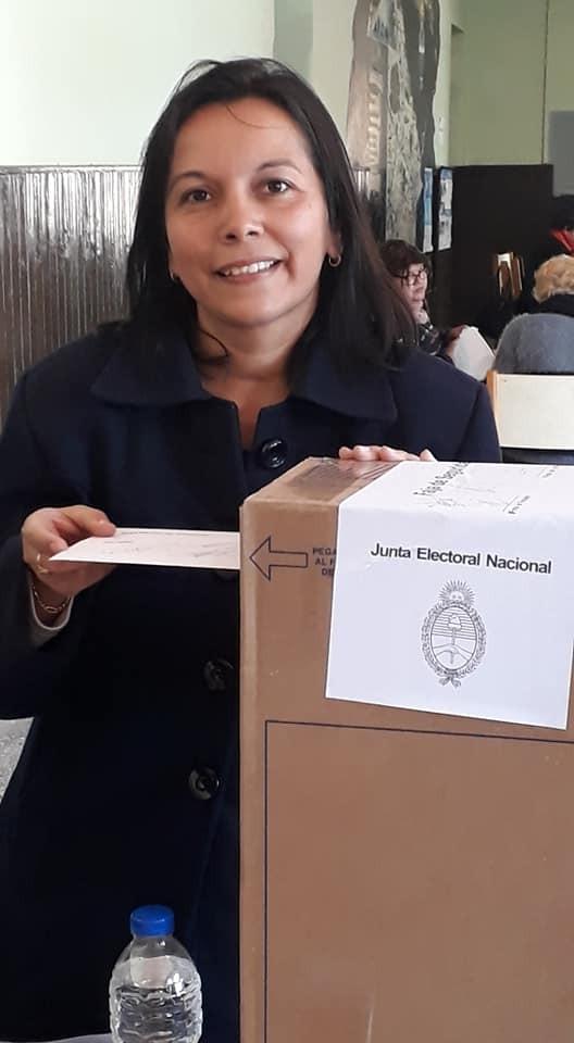LILIANA PASCUA MANTUVO EL CAUDAL DE VOTOS EN FAVOR DE DOMINGO PEPPO