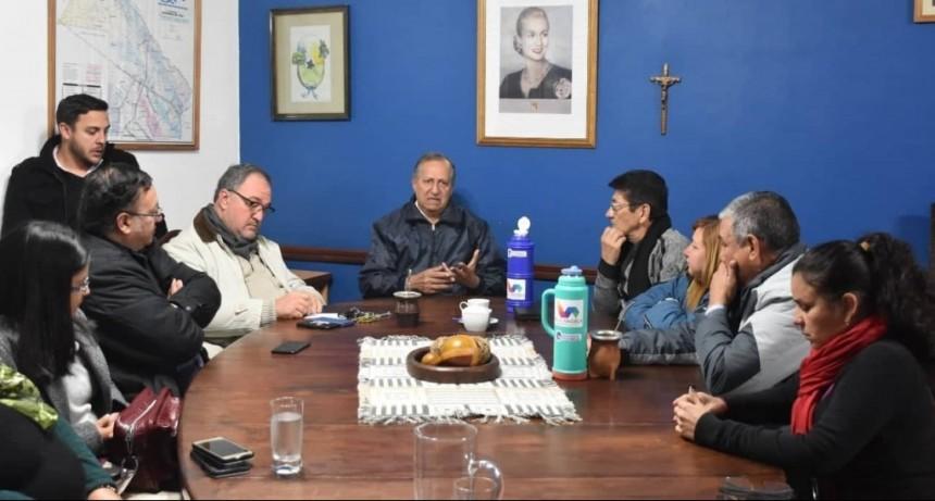 PAPP SE REUNIO CON SUS EQUIPO DE TRABAJO Y LOS INSTO A SEGUIR TRABAJANDO POR LA CIUDAD