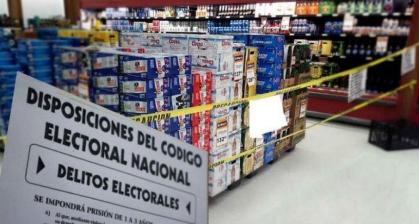 DOCE HORAS ANTES DE LA APERTURA DE LOS COMICIOS NO SE PODRÁ VENDER BEBIDAS ALCOHÓLICAS