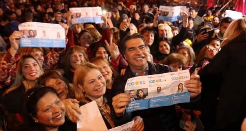 EN SAN BERNARDO CAPITANICH LOGRO UN ACOMPAÑAMIENTO DE UN 40,12%