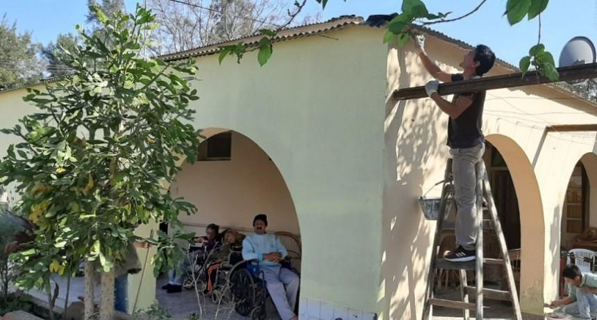 PAPP DESTACÓ LA INTERVENCIÓN INTEGRAL DEL MUNICIPIO EN EL HOGAR N°3 Y LA RESIDENCIA GERIÁTRICA