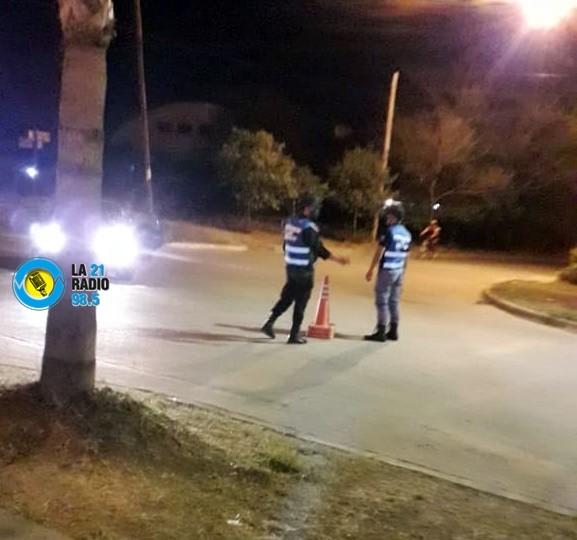 LOS CONTROLES POLICIALES SE MODIFICARÍAN EN EL HORARIO DE LOS FINES DE SEMANA