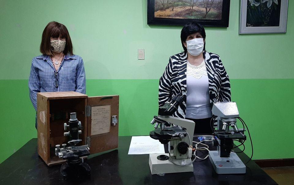 EL MUSEO MUNICIPAL RECIBIÓ INSTRUMENTOS ANTIGUOS DE TRABAJO POR PARTE DEL LABORATORIO DEL HOSPITAL