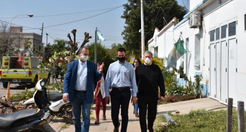 EL INTENDENTE PAPP SE COMPROMETIÓ CON LA MINISTRA DE SEGURIDAD EN CONTINUAR TRABAJANDO EN CONJUNTO