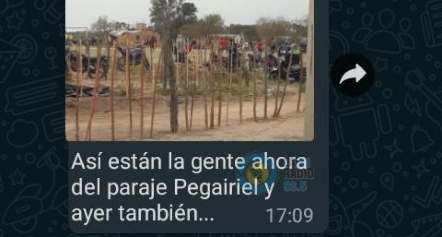 VECINOS DENUNCIAN QUE TODOS LOS FINES DE SEMANA SE DAN CAMPEONATOS DE FÚTBOL EN COLONIA PEGURIEL