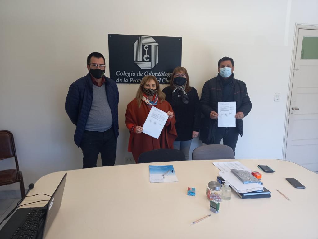 EL SINDICATO DE EMPLEADOS DE COMERCIO FIRMÓ UN ACUERDO CON EL COLEGIO DE ODONTÓLOGOS